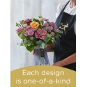 Spring Hand-tied Bouquet and Vase