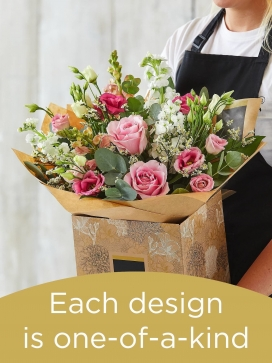 Hand-tied Bouquet £45