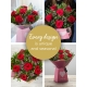Valentine's gift box made with premium roses